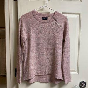 • A&F • Zipper Crewneck Sweater